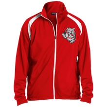 Load image into Gallery viewer, Lady Bulldogs Men's Raglan Sleeve Warmup Jacket