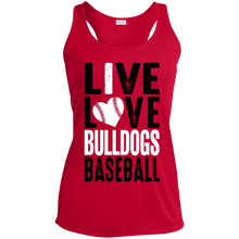 Load image into Gallery viewer, Live/Love Ladies' Racerback Moisture Wicking Tank
