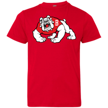 Load image into Gallery viewer, Bulldog Logo Youth Jersey T-Shirt