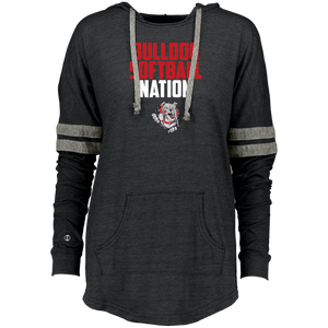 Lady Bulldogs Nation Ladies Hooded Low Key Pullover