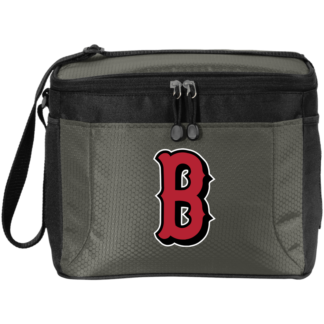 B (Red) 12-Pack Cooler