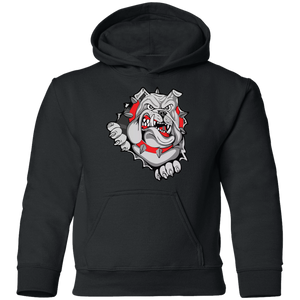Lady Bulldogs Youth Pullover Hoodie