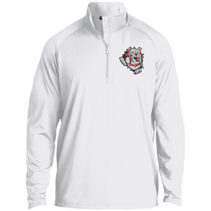 Lady Bulldogs 1/2 Zip Raglan Performance Pullover