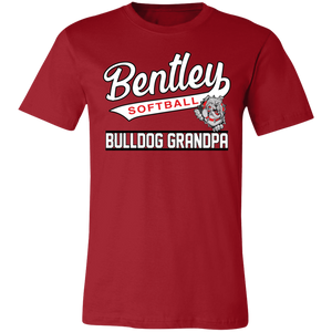 Lady Bulldogs Grandpa Jersey Short-Sleeve T-Shirt
