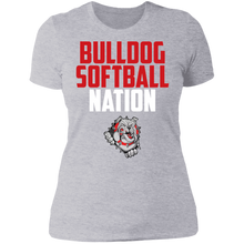Load image into Gallery viewer, Lady Bulldogs Nation Ladies' Boyfriend T-Shirt