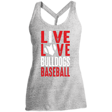 Load image into Gallery viewer, Live/Love Ladies' Cosmic Twist Back Tank