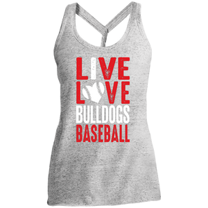 Live/Love Ladies' Cosmic Twist Back Tank