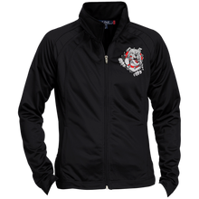 Load image into Gallery viewer, Lady Bulldogs Ladies' Raglan Sleeve Warmup Jacket