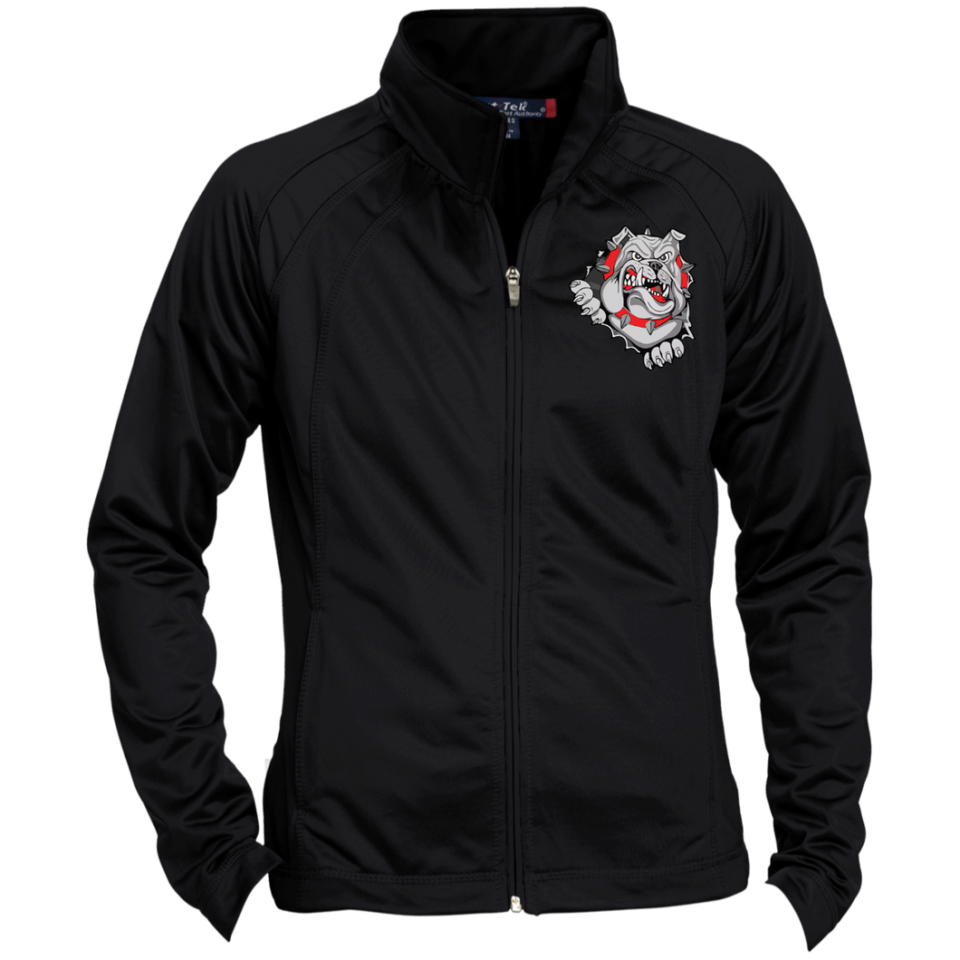 Lady Bulldogs Ladies' Raglan Sleeve Warmup Jacket
