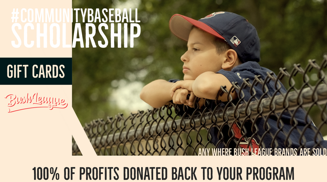 #communitybaseball Scholarship Gift Cards