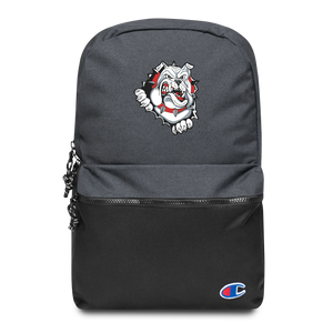 Lady Bulldogs Embroidered Champion Backpack