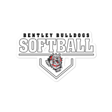 Load image into Gallery viewer, Lady Bulldogs Softball Bubble-free stickers
