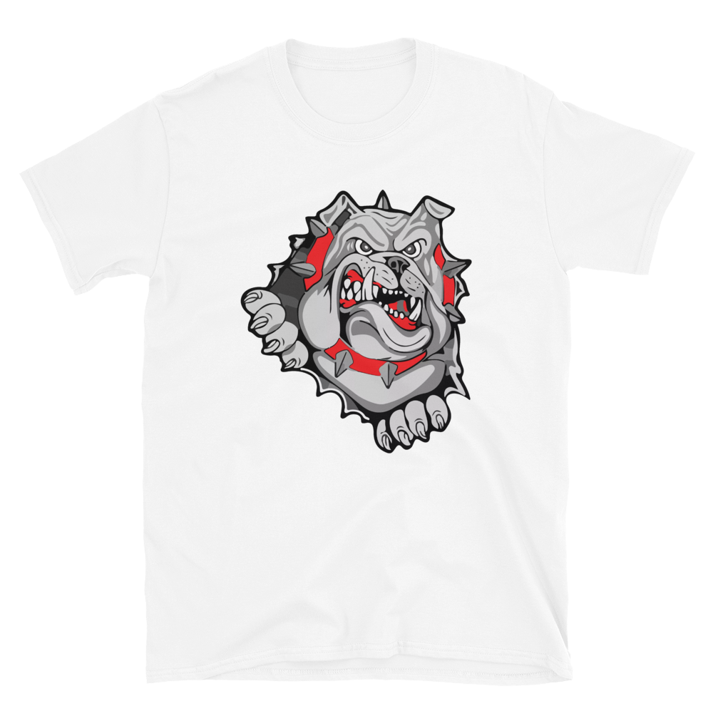 Lady Bulldog Short-Sleeve Unisex T-Shirt
