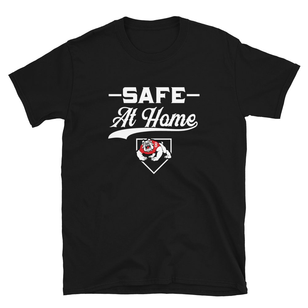 Safe At Home Bulldogs Short-Sleeve Unisex T-Shirt