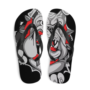 Lady Bulldogs Flip-Flops