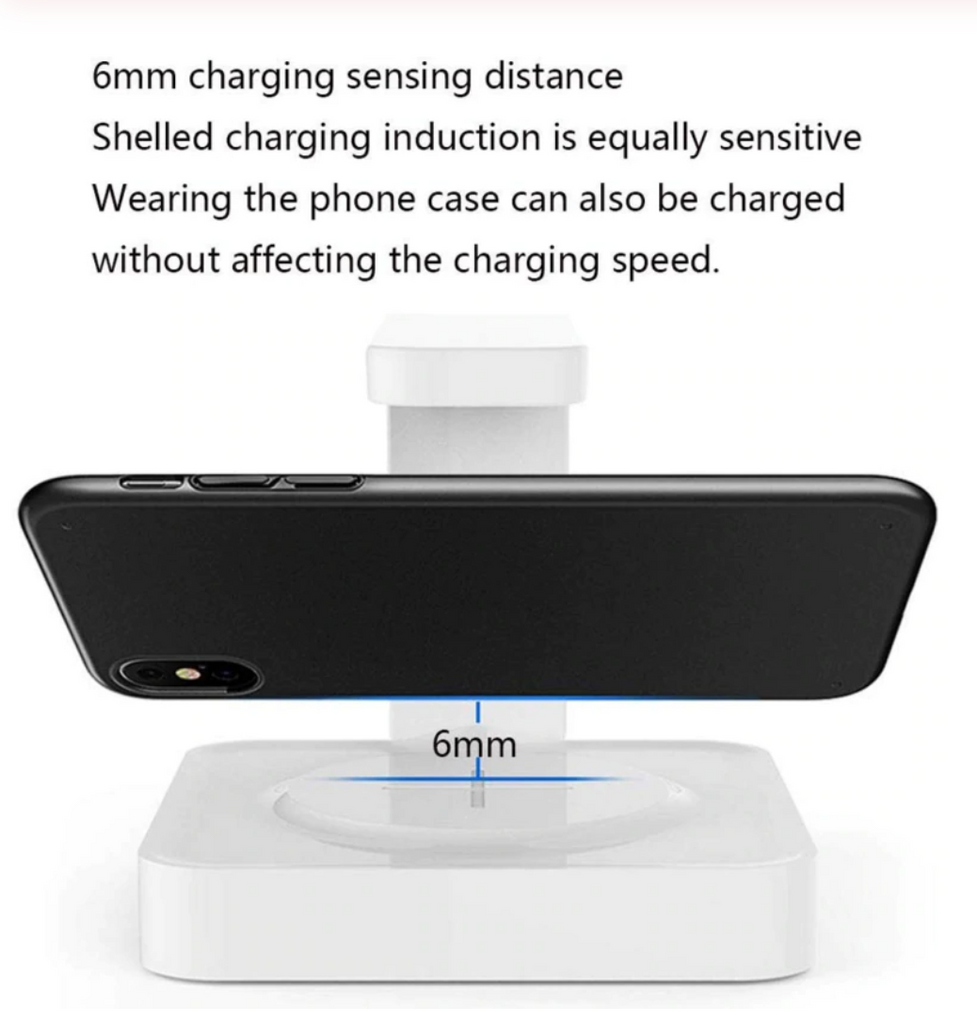Sanitize Me™ Cell Phone Sanitizer And Dual Universal Cell Phone Charger Wireless Charging Treasure UV Sterilization Sterilizer
