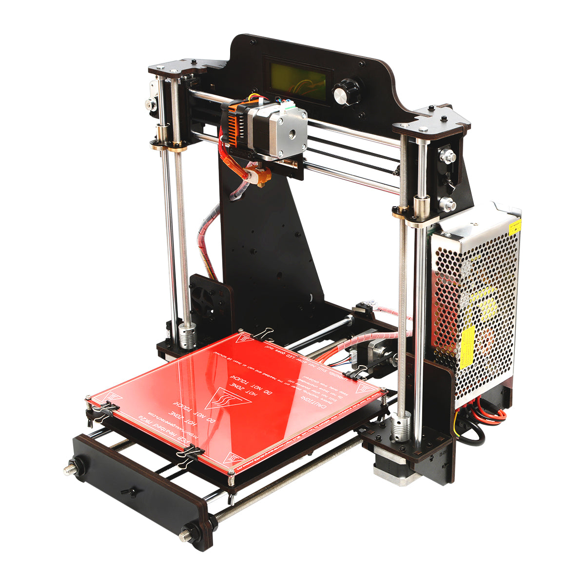 Geeetech Prusa I3 Pro W DIY 3D Printer 200x200x180mm Printing Size 1.75mm 0.3mm Nozzle