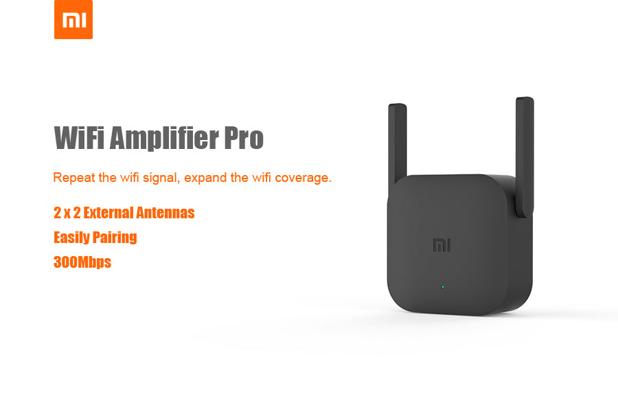 Wifi-Intel™ Pro 300Mbps Wireless Wifi Signal Amplifier Extender Repeater