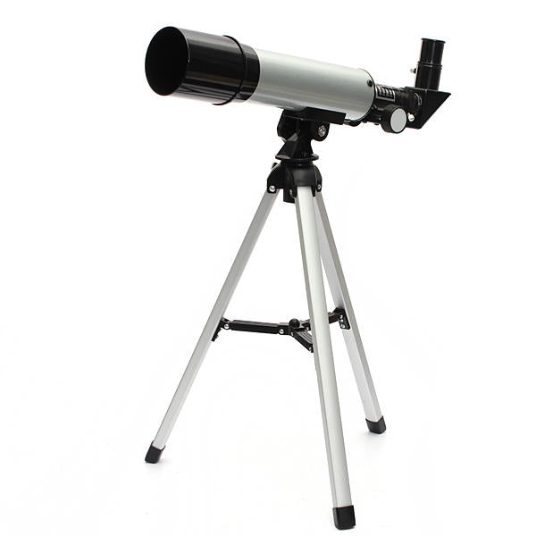 Telescoping World™ F360x50 HD Refractive Astronomical Telescope High Magnification Zoom Monocular