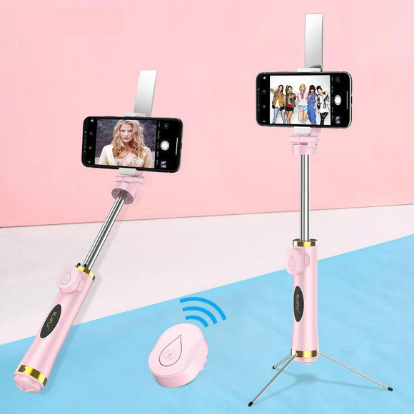 3 IN 1 Mini Bluetooth Selfie Stick Foldable Tripod