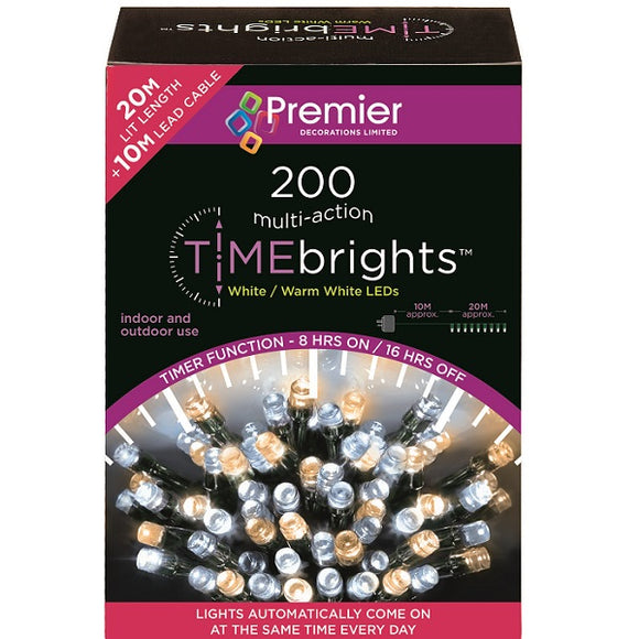 200 Multi Action LED Timebrights