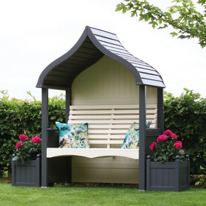 AFK Painted Orchard Arbour