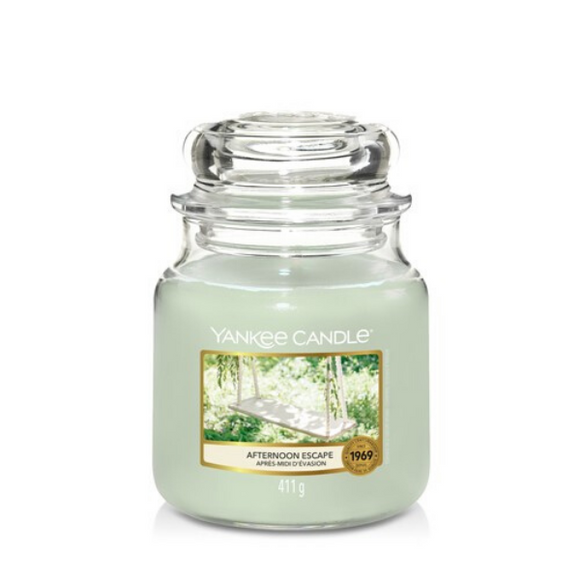 Afternoon Escape Yankee Candle- Medium Jar