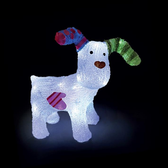 Acrylic LED The Snowdog