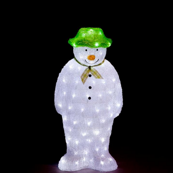 Acrylic LED The Snowman