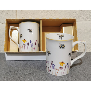 Busy Bee Set of 2 Mugs