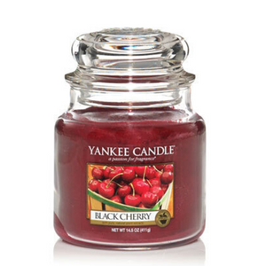 Black Cherry Yankee Candle- Small Jar