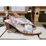 Ladies Cushion Walk Shoe- Brenda in Multi