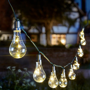 6 set Eureka Solar Light Bulb String by Smart Garden