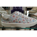 Ladies Lotus Lace Up Trainers- Garda