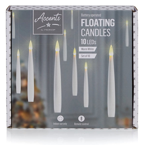 10pk 15cm Floating Candle