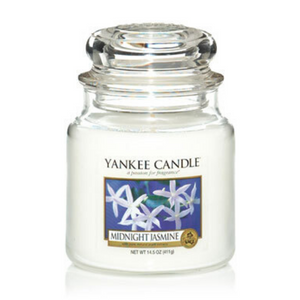 Midnight Jasmine Yankee Candle- Medium Jar