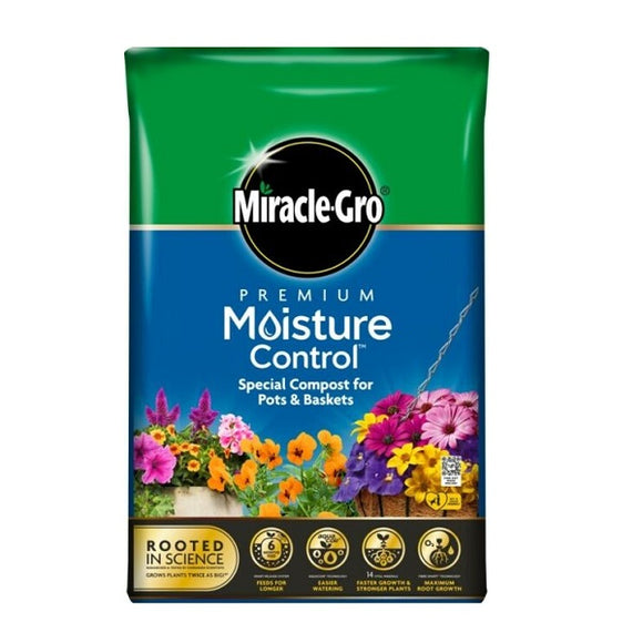 Miracle Gro Moisture Control 40l Compost