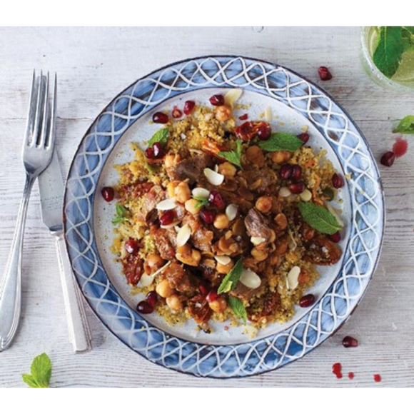Moroccan Spiced Lamb Tagine For 2