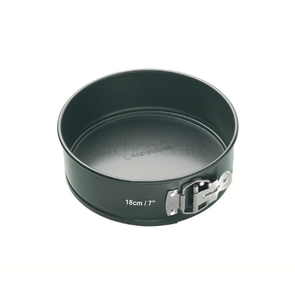 MasterClass Non-Stick 18cm Loose Base Spring Form Cake Pan