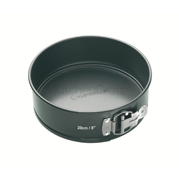 MasterClass Non-Stick 20cm Loose Base Spring Form Cake Pan