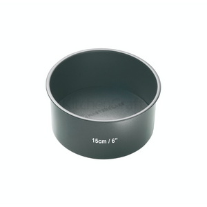 MasterClass Non-Stick 15cm Loose Base Deep Cake Pan