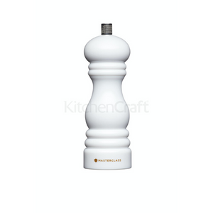 MasterClass Salt or Pepper Mill (17cm) - White