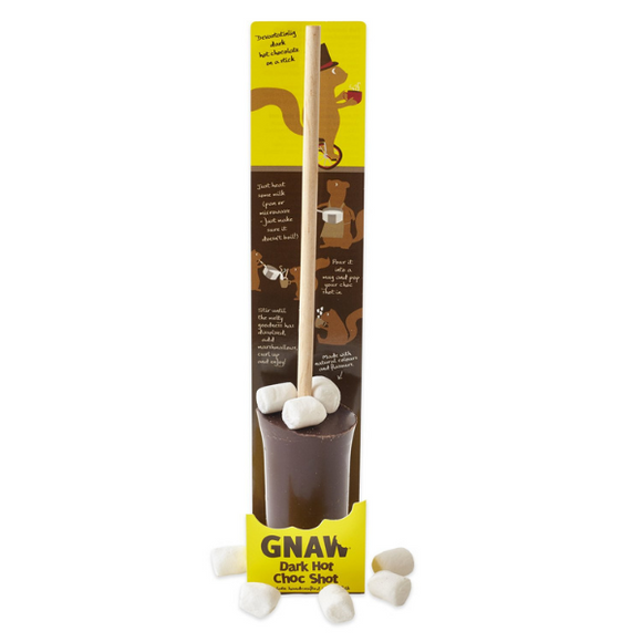 Gnaw Dark Hot Choc Shot with Marshmallows