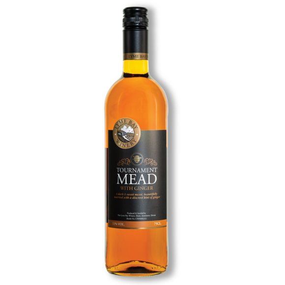 Lyme Bay Tournament Mead with Ginger 75cl