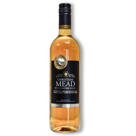 Lyme Bay Christmas Mead 75cl