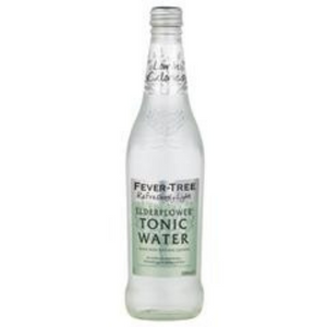 Fever Tree Refreshingly Light Elderflower Tonic Water 500ml