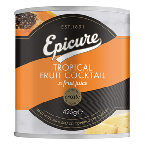 Epicure Tropical Fruit Cocktail in Fruit Juice 425g