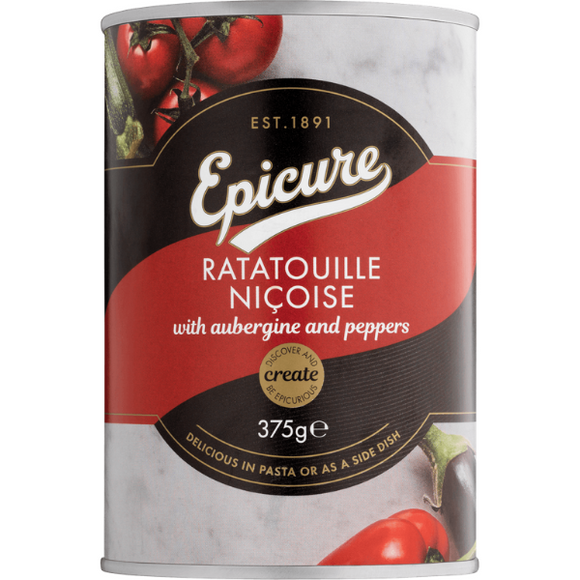 Epicure Ratatouille Nicoise with Aubergine & Peppers 375g