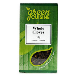 Green Cuisine Whole Cloves 18g