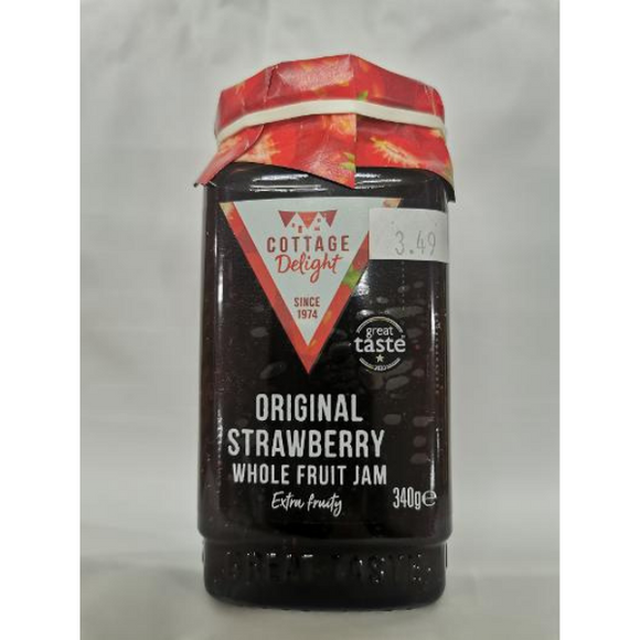 Cottage Delight Original Strawberry Jam